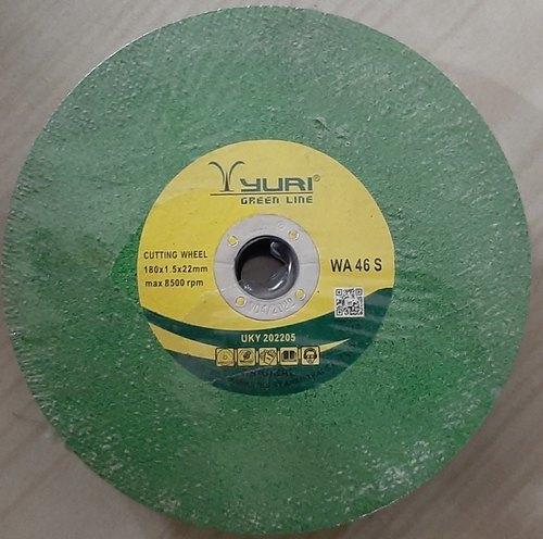 Yuri 180X1.5X22mm Green Cutting Wheel
