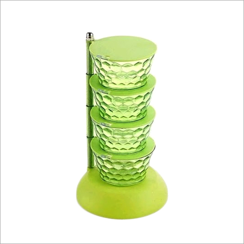 Plastic Pickle Tower Kitchen Container Set
