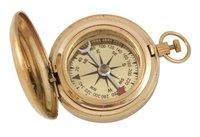Shiny Brass Dalvey Compass 2 Inch