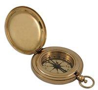 Brass Dalvey Pocket Compass 3 Inch