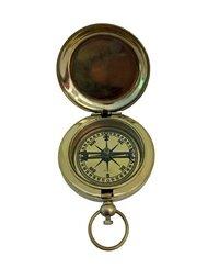 Brass Pocket Compass - Brass Dalvey Compass