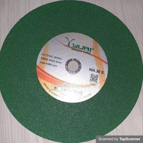 Yuri Green Cutting Wheel 14 Inch