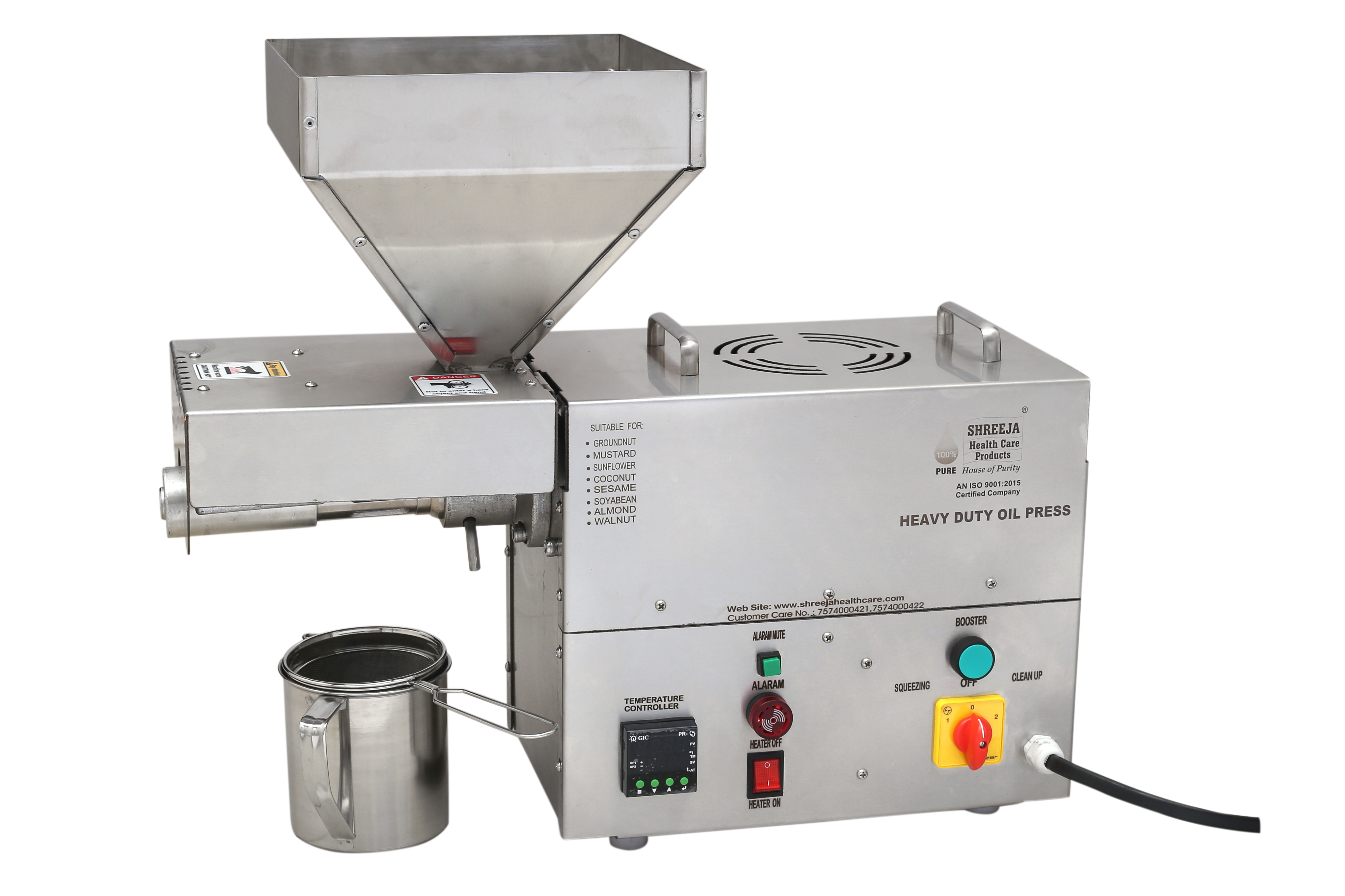 Mini Commercial Oil Press Extraction Machine