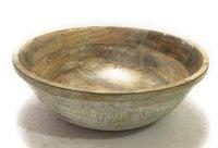 Mango Wood Natural Bowl