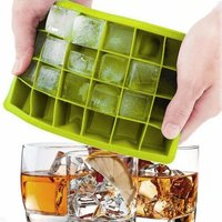 24 Ice Cube Silicon Ice Tray