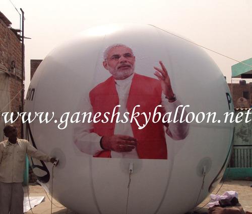 Political Advertising Sky Balloons