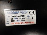 REPAIR SELEMA SERVO DRIVE 64MC205XSTA