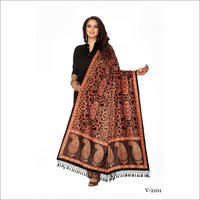 Digital Printed Velvet Dupatta