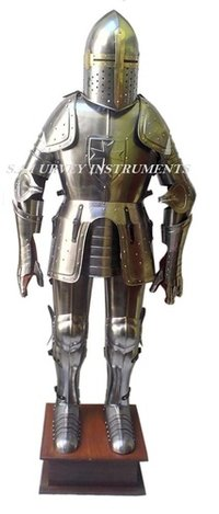 Wearable Medieval Knight Full Suit Of Armor With Display Stand