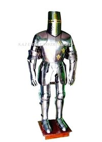 Medieval Knight Templar Body Armor Suit