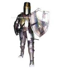 Crusader Knight Full Suit Of Armour