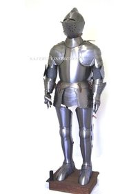 Knight Crusader Full Suit of Armor - 6 Feet