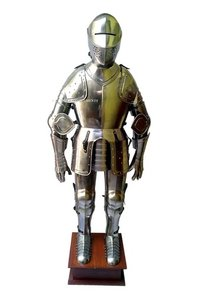Medieval Knight Full Body Armor With Stand