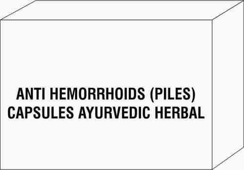 Anti Hemorrhoids (Piles) Capsules Ayurvedic Herbal