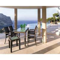 Wicker Outdoor Garden Dining Set