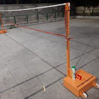 Portable Badminton Pole