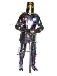 Antique Templar Full Suit of Armor