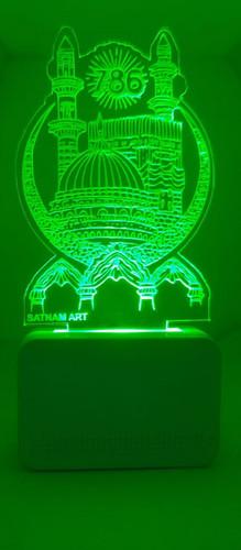 3D ACRYLIC 786 NIGHT LAMP