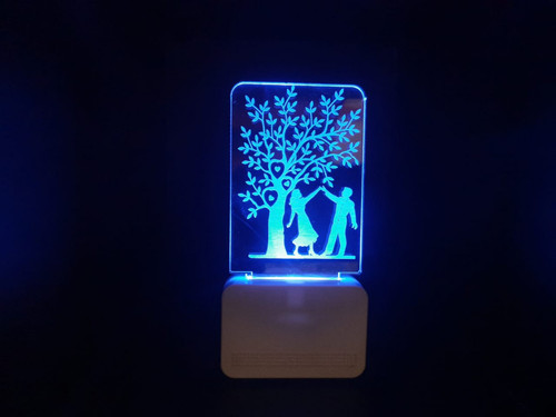 3D ACRYLIC COUPLE WITH TREE NIGHT LAMP