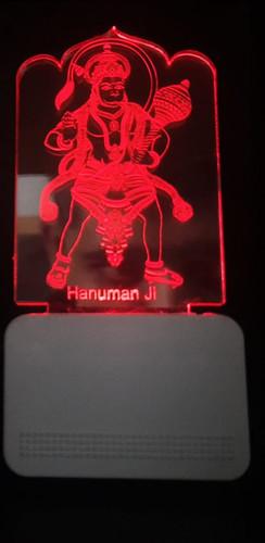3D ACRYLIC HANUMAN JI NIGHT LAMP