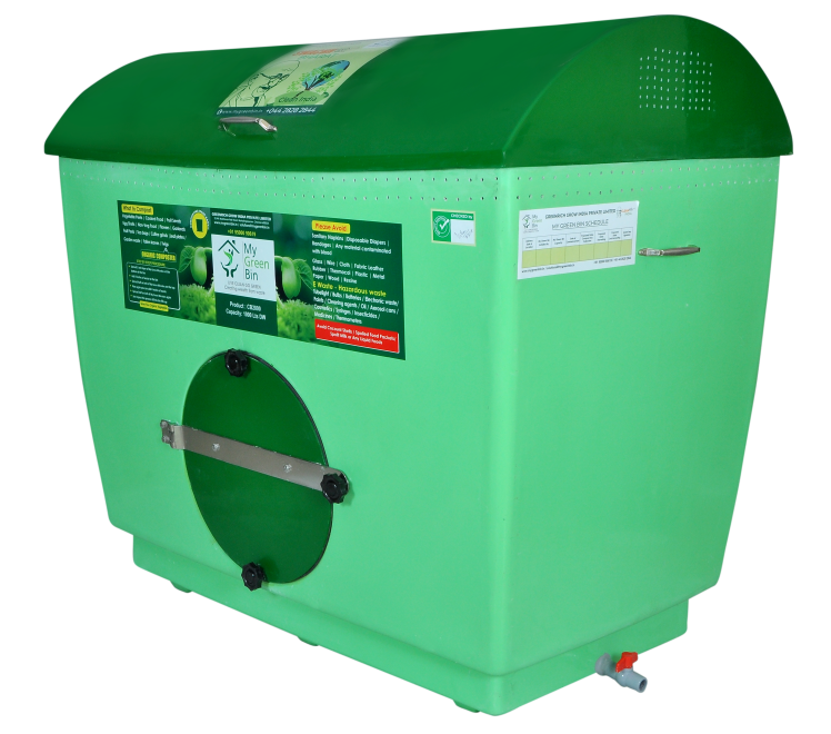 GRC1000 - 1000 Ltrs Greenrich Community Composters