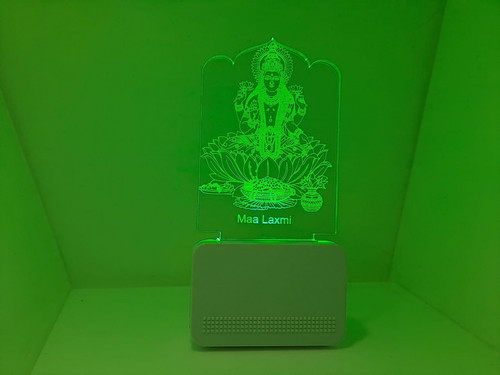 3D ACRYLIC MAA LAXMI NIGHT LAMP