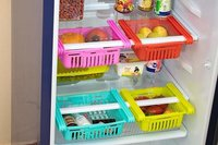 4 Pcs Adjustable Refrigretor  Tray