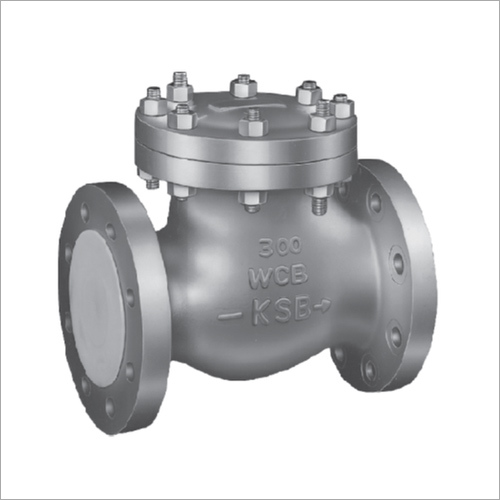 KSB Cast Steel Swing Check Valve