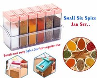 6 Pcs Spice Rack