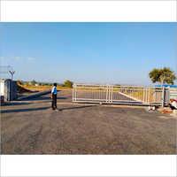 Industrial Motorized Gate
