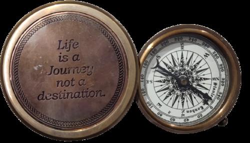 Antique Trifold Compass