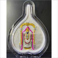 Leaf Design Acrylic Ganesha Frame