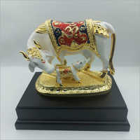 Cow With Calf Statue