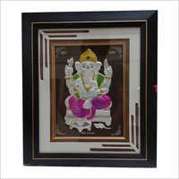 Square Ganesha Wooden Frame