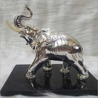 Silver Plated Statue