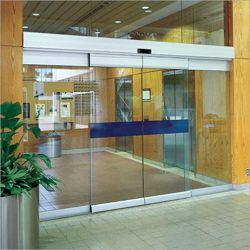 Automatic Sensor Glass Door