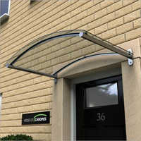 Arched Polycarbonate Canopy