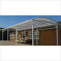 Curved Polycarbonate Canopy
