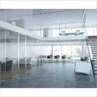 Toughened Glass Partition
