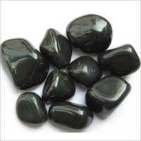 Polished Black Pebbles