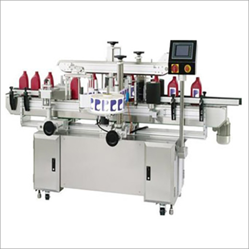 Automatic Self Adhesive Two Side Flat Bottle Labelling Machine