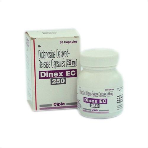 Dinex EC 250 Didanosine Capsule