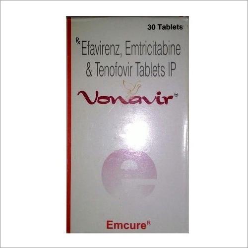 Vonavir Efavirenz Emtricitabine Tenofovir Tablets