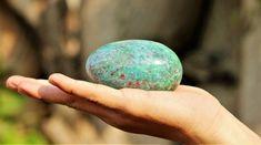 Ruby Apatite Egg