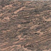 T Brown Prefab Granite Countertops