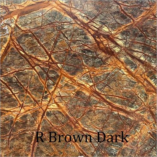 R Brown Dark Countertop Slab