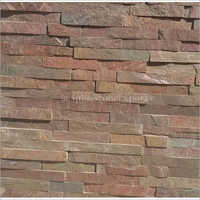 Agra Red Wall Cladding