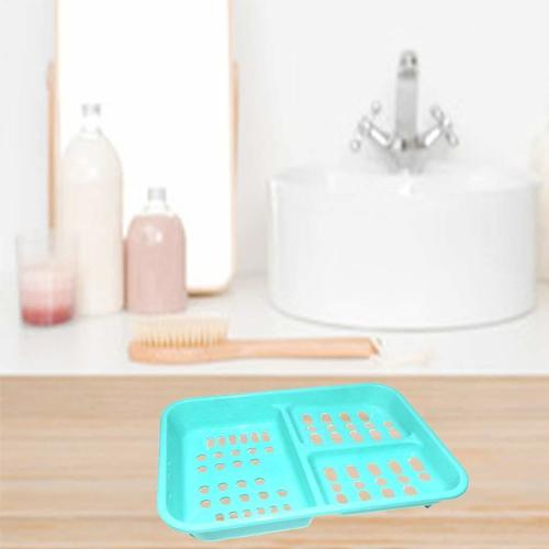 3 in 1 Soap keeping Plastic Case for Bathroom use