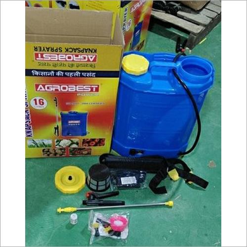 Battery Operated Agrobest Power Knapsack Sprayer