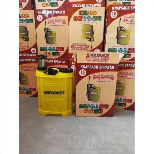 Manual Operated Agrobest Supreme Gold Knapsack Sprayer
